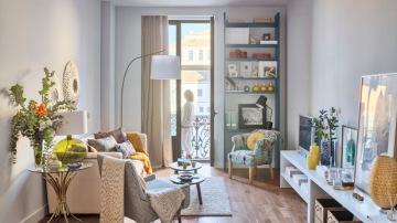 Utiliza mobiliario multifuncional
