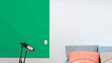 Utilizar paredes de diferentes colores