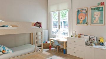 Los animales están muy presentes en los dormitorios infantiles