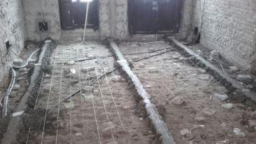 Pavimento del piso antiguo