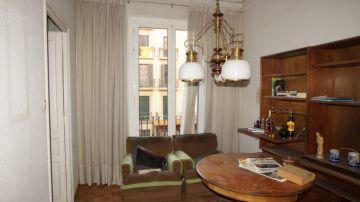 El salón antes de la reforma