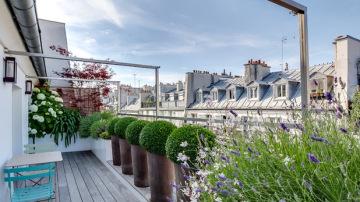 Balcón en París