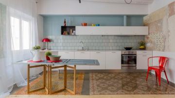 Muebles estándar y unos revestimentos