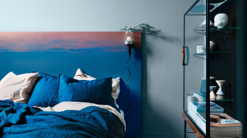 Pintar un cabecero en el dormitorio
