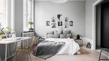 Decora el dormitorio con fotos