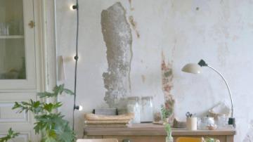 Guirnaldas en la pared decorativas